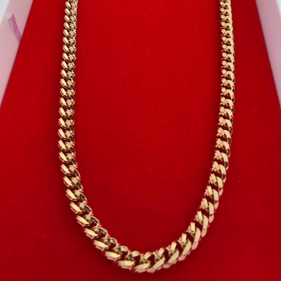 e917cb8a70ad9 18k Gold filled Cuban link chain